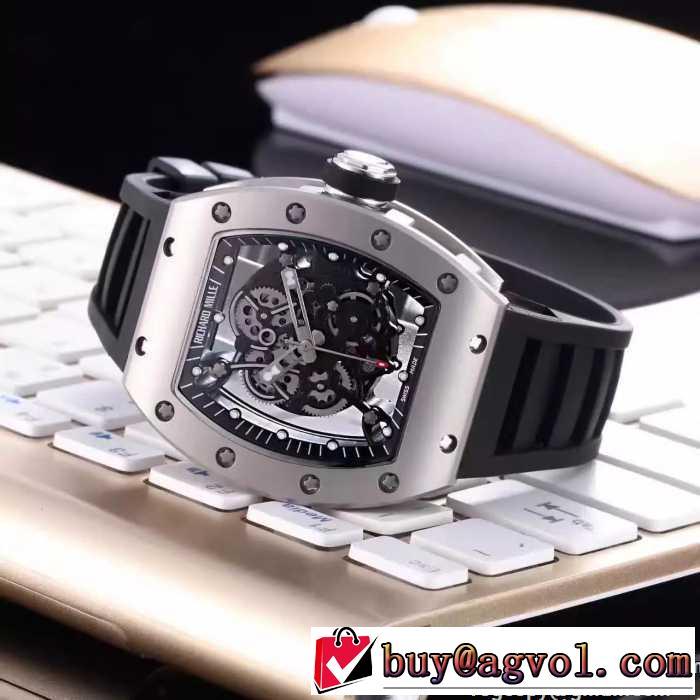 2016秋冬個性的なデザイン  リシャールミル RICHARD MILLE 腕時計 多色選択可