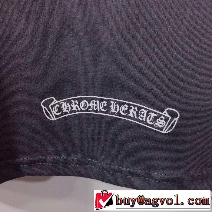 クロムハーツ CHROME HEARTS 半袖Tシャツ 2019春夏人気トレンドアイテム 優しい雰囲気スタイリッシュに