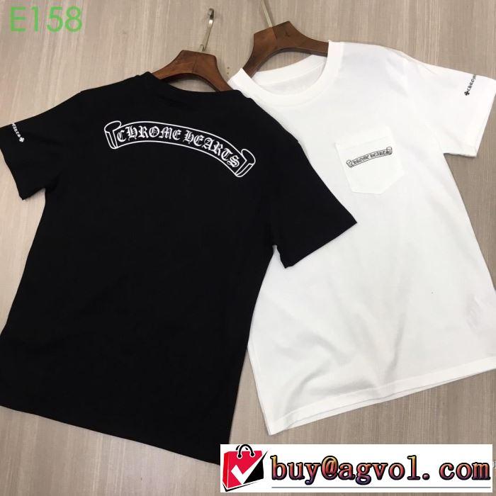 クロムハーツ CHROME HEARTS 半袖Tシャツ 2色可選  2019春夏も引き続きトレンド 素敵なスタイルで夏の定番