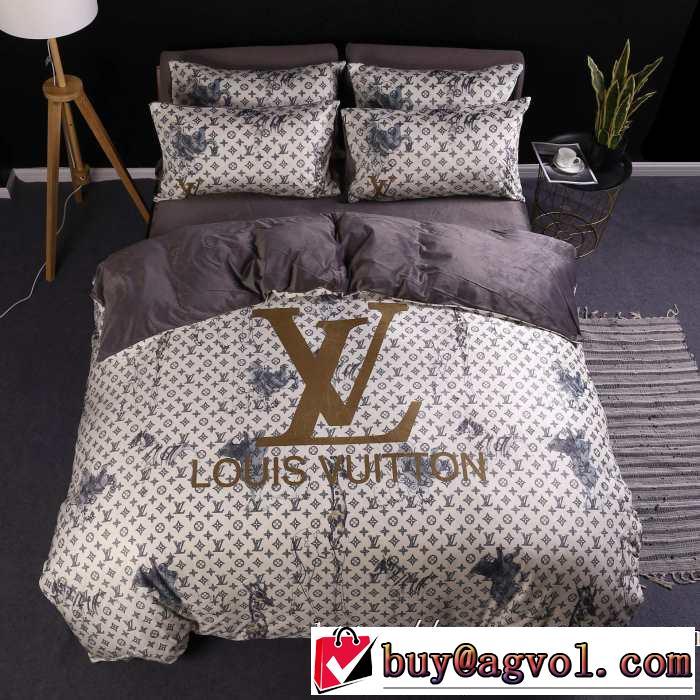 ルイ ヴィトン シンプルに着こなしたい LOUIS VUITTON 寝具4点セット 【2019秋冬】今きてる最先端ブランド