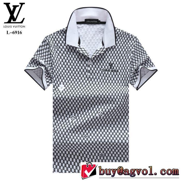 主張性もカジュアルさ ルイ ヴィトン LOUIS VUITTON 4色可選  Tシャツ/半袖 2019年夏の一押しファッションアイテム