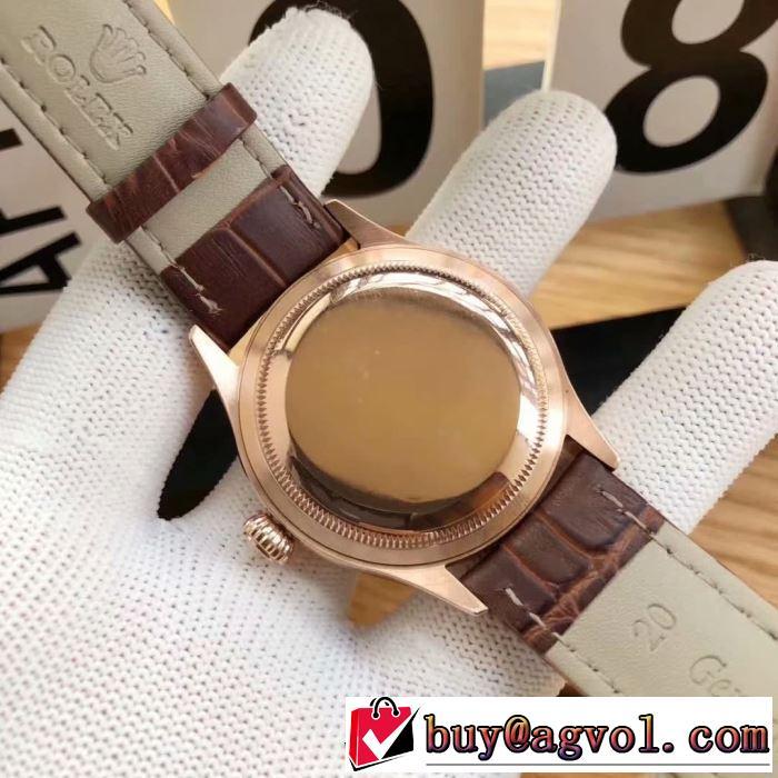 多色選択可 お洒落で秋冬注目トレンド ロレックス ROLEX 腕時計 2019年秋冬に欠かせない
