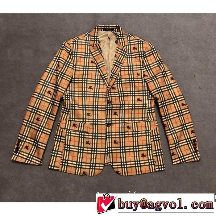 BURBERRY スーツ おしゃれに秋を迎えるために 2019トレンドファッション新品 バーバリー