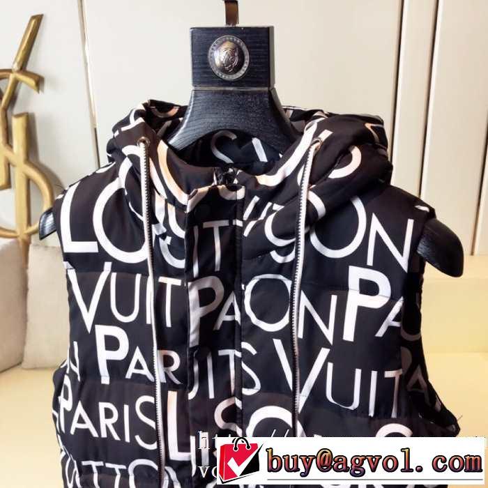 ルイ ヴィトン ファッション上級者向け LOUIS VUITTON 2019秋冬トレンドデザイン メンズ ダウンジャケット 素敵続くトレンド