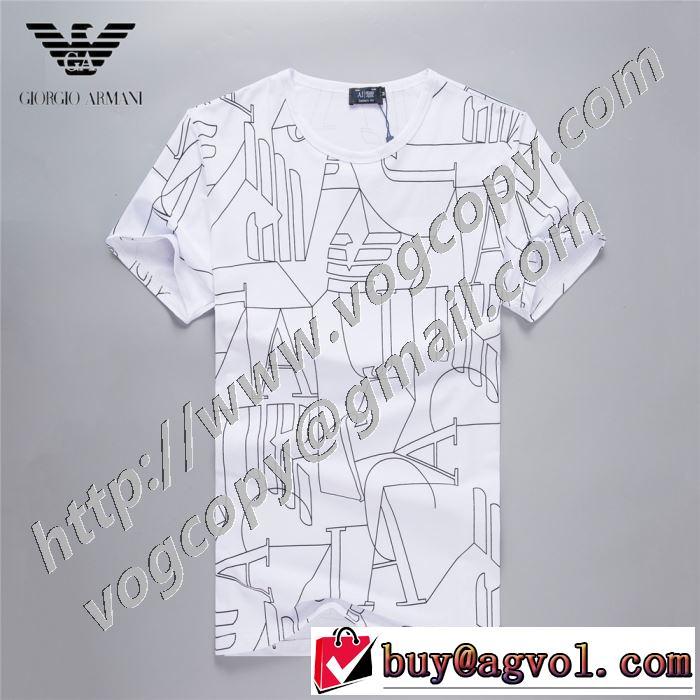 アルマーニ ランキング1位  3色可選 ARMANI 2020話題の商品 半袖Tシャツ愛らしい春の新作