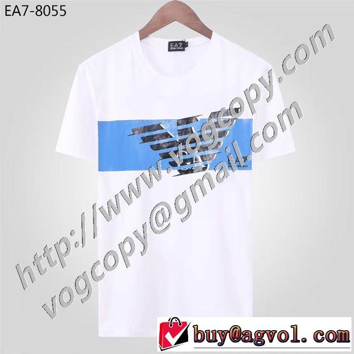 3色可選 幅広いアイテムを展開 半袖Tシャツ 非常にシンプルなデザインな アルマーニ ARMANI 高級感のある素材