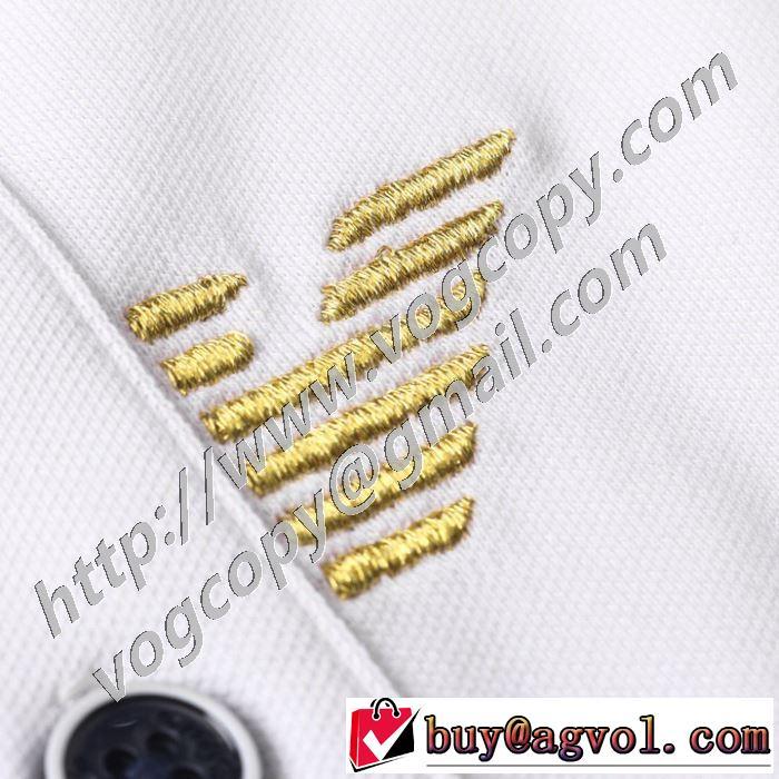 半袖Tシャツ 日本未入荷カラー 3色可選 上品に着こなせ アルマーニ ARMANI  注目を集めてる