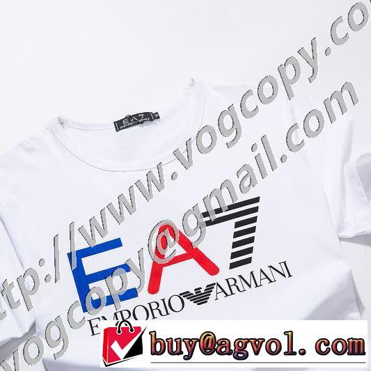20SSトレンド 半袖Tシャツ 2色可選 手の届くプライスが魅力的 アルマーニ ARMANI 手頃価格でカブり知らず