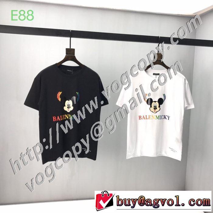 確定となる上品 バレンシアガ2色可選  BALENCIAGA 海外でも大人気 半袖Tシャツ 日本未入荷カラー
