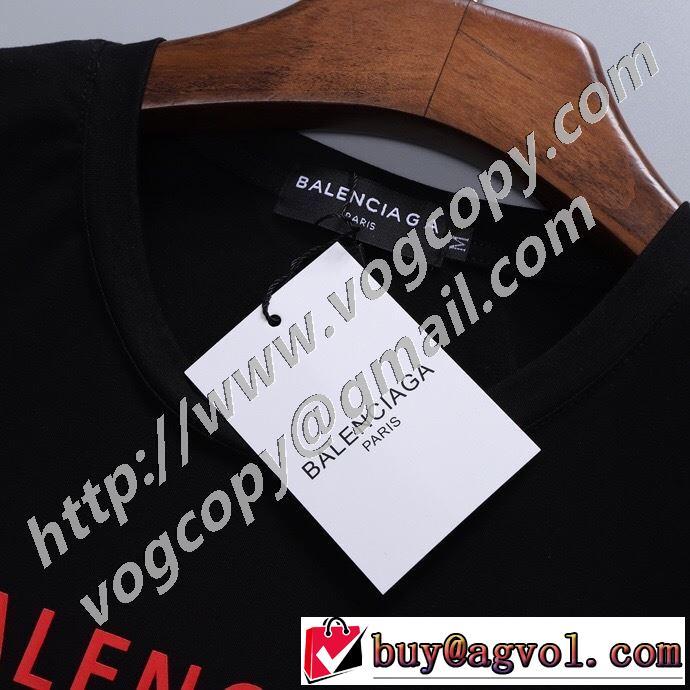 2色可選 半袖Tシャツ 手の届くプライスが魅力的 バレンシアガ20SSトレンド  BALENCIAGA 手頃価格でカブり知らず
