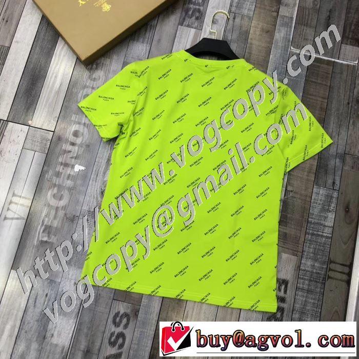 人気ランキング最高 半袖Tシャツ 2色可選 限定色がお目見え バレンシアガ BALENCIAGA