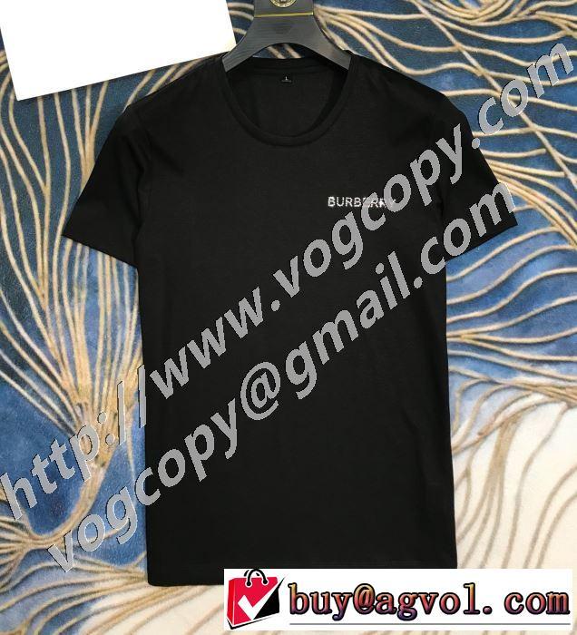 半袖Tシャツ 2色可選 手頃価格でカブり知らず バーバリー 価格も嬉しいアイテム BURBERRY