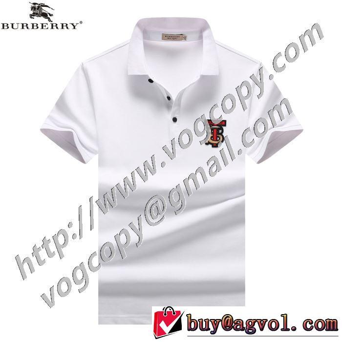 通勤通学どちらでも使え 半袖Tシャツ 3色可選 素敵なアイテム バーバリー BURBERRY 万能に使える
