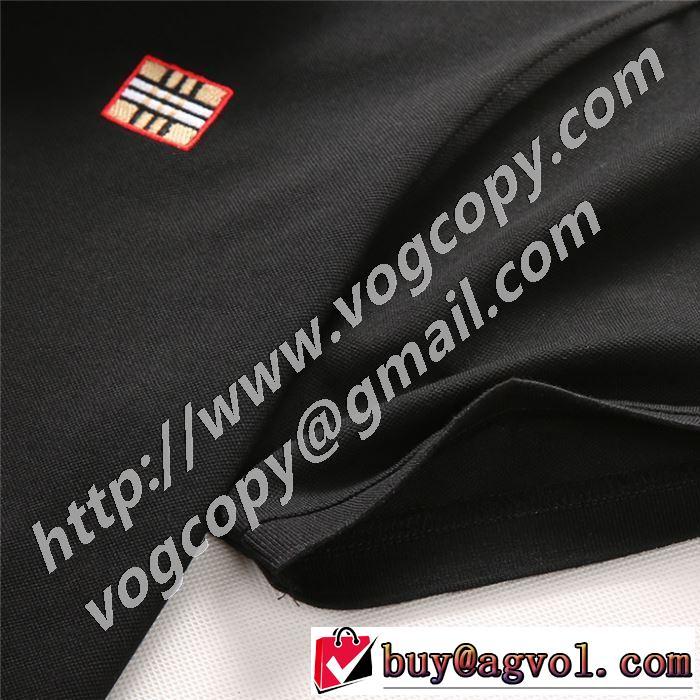 一目惚れ級に 半袖Tシャツ 人気ランキング最高 2色可選 バーバリー BURBERRY 有名ブランドです