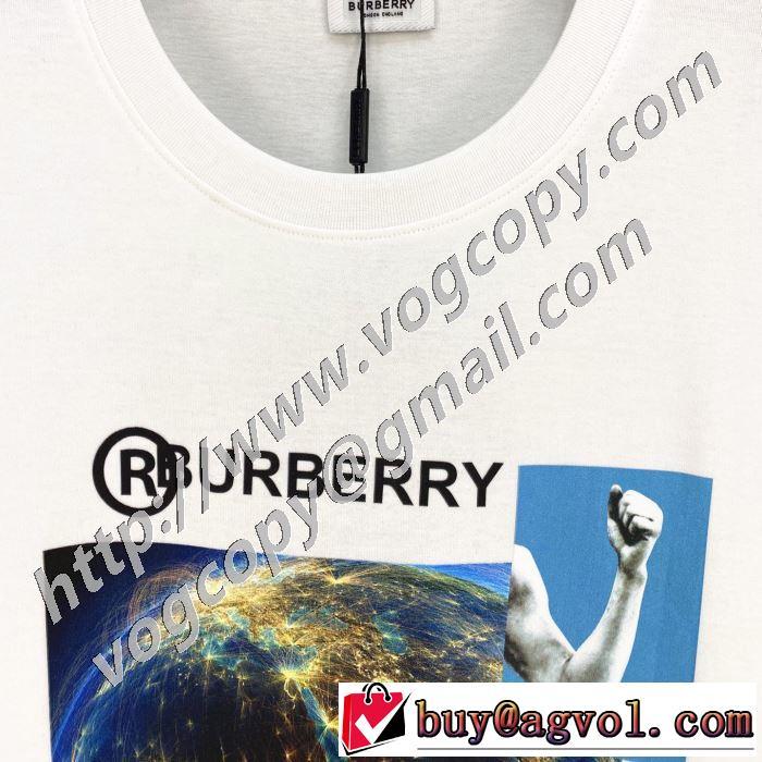 2年以上連続1位獲得 2色可選 半袖Tシャツ 今回注目する バーバリー エレガントな雰囲気 BURBERRY