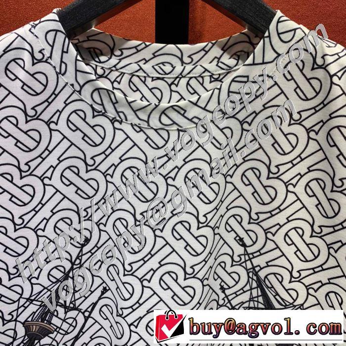 バーバリー BURBERRY 2色可選 オススメのアイテムを見逃すな 半袖Tシャツ コーデの完成度を高める