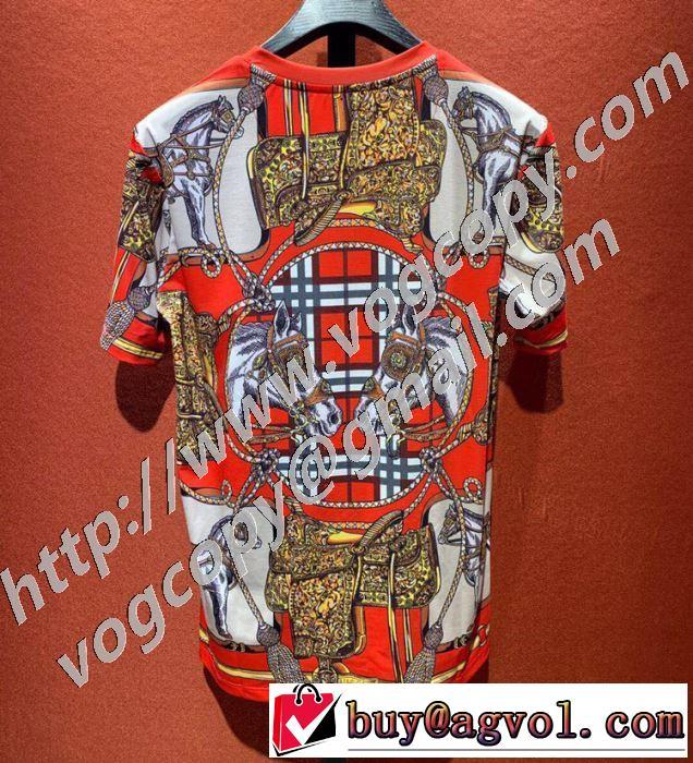 この時期の一番人気は バーバリー シンプルなファッション BURBERRY 半袖Tシャツ  2020モデル