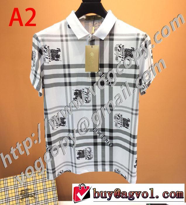 3色可選 ストリート界隈でも人気 半袖Tシャツ 安心安全人気通販 バーバリー BURBERRY  20新作です