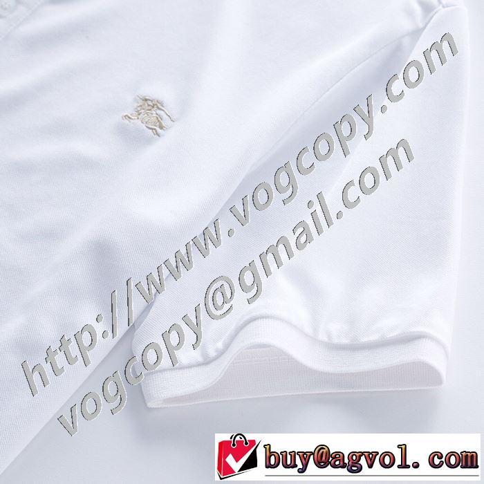 ファッショニスタを中心に新品が非常に人気 2色可選 バーバリー BURBERRY 2020春新作 半袖Tシャツ