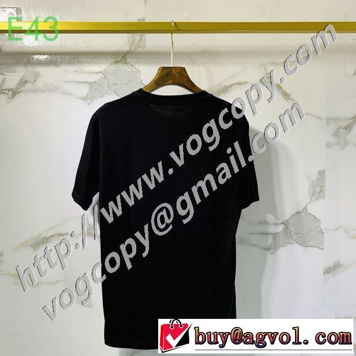 2色可選 海外でも人気なブランド 半袖Tシャツ 高級感のある素材 ブランド 一番手に入れやすい コピー