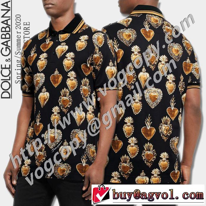 ドルチェ&ガッバーナ 手の届くプライスが魅力的 Dolce&Gabbana 半袖Tシャツ 20SSトレンド