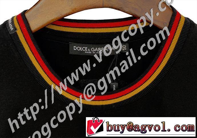 手頃価格でカブり知らず ドルチェ&ガッバーナ Dolce&Gabbana価格も嬉しいアイテム  半袖Tシャツ