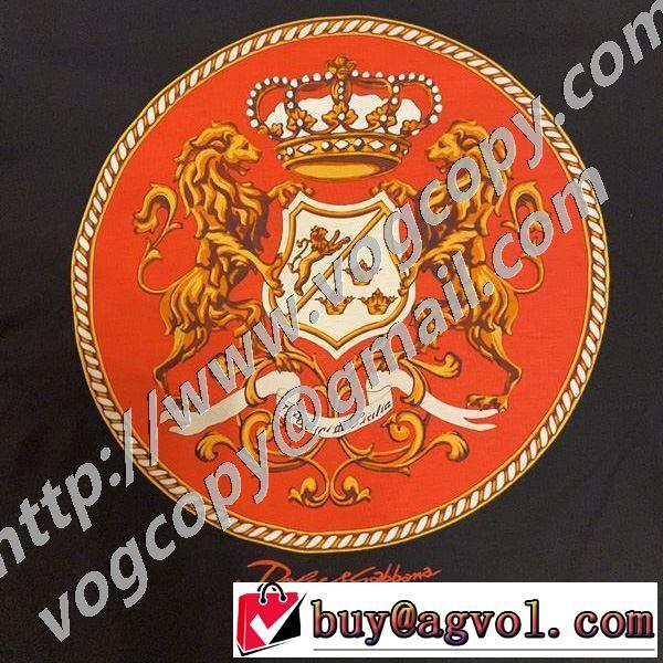 有名ブランドです 半袖Tシャツ 一目惚れ級に ドルチェ&ガッバーナ Dolce&Gabbana