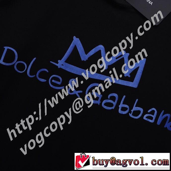 2020SS人気 半袖Tシャツ 2色可選 最先端のスタイル ドルチェ&ガッバーナ Dolce&Gabbana