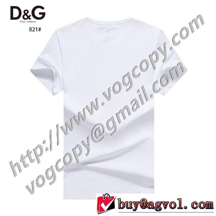 ドルチェ&ガッバーナ1点限り!VIPセール 2色可選  Dolce&Gabbana おしゃれ刷新に役立つ 半袖Tシャツ
