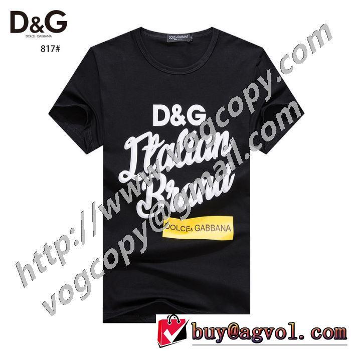 2色可選 この時期の一番人気は 半袖Tシャツ コーデの完成度を高める ドルチェ&ガッバーナ Dolce&Gabbana