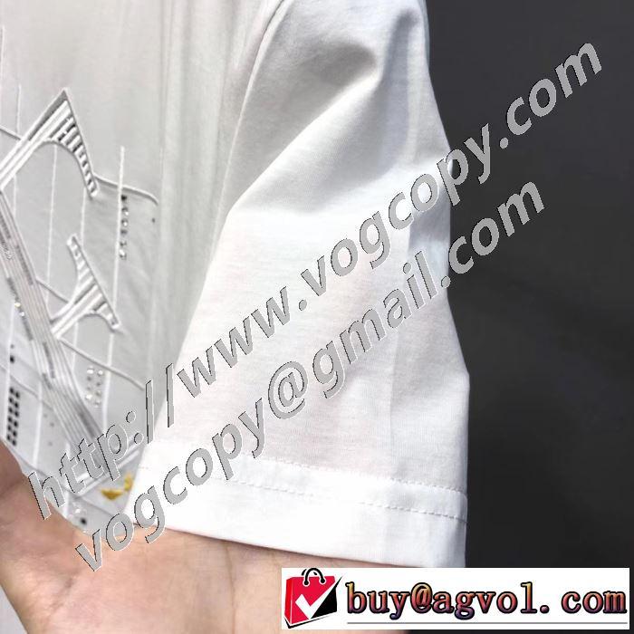 半袖Tシャツ 本当に嬉しいアイテム 2色可選 フェンディ差をつけたい人にもおすすめ  FENDI