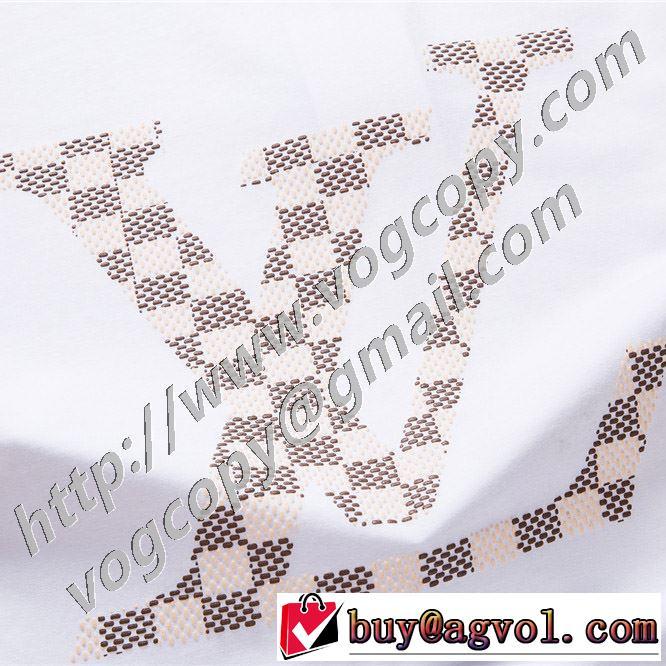 2色可選 ルイ ヴィトン 普段見ないデザインばかり LOUIS VUITTON 非常にシンプルなデザインな 半袖Tシャツ