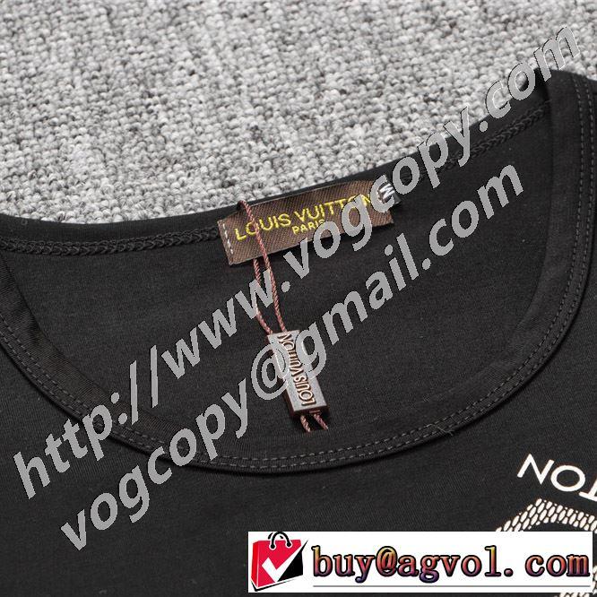 海外でも人気なブランド 半袖Tシャツ 2色可選 幅広いアイテムを展開 ルイ ヴィトン LOUIS VUITTON