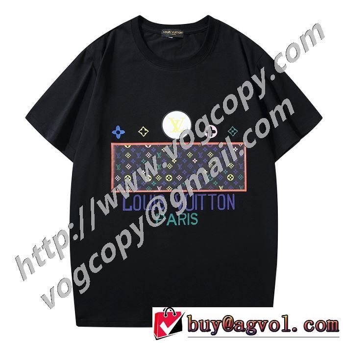 2020年春限定 2色可選 ルイ ヴィトン LOUIS VUITTON 今なお素敵なアイテムだ 半袖Tシャツ