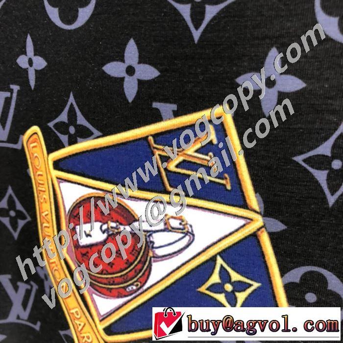 最もオススメ 半袖Tシャツ 確定となる上品 ルイ ヴィトン LOUIS VUITTON 海外でも大人気