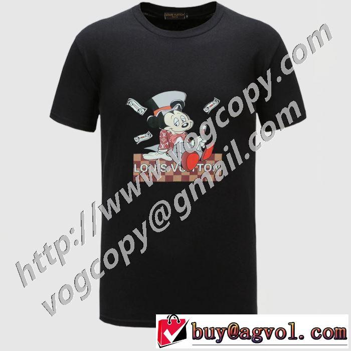 限定品が登場 半袖Tシャツ 4色可選 着こなしを楽しむ ルイ ヴィトン LOUIS VUITTON 2020年春夏コレクション