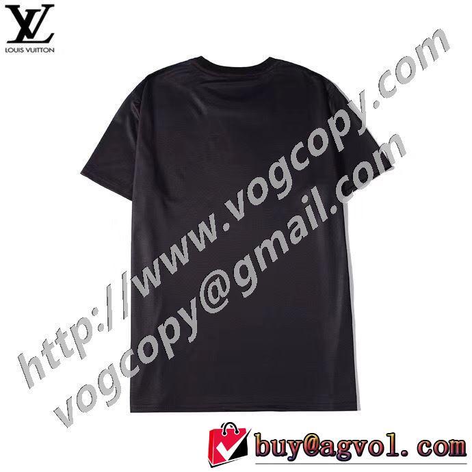 ルイ ヴィトン 飽きもこないデザイン LOUIS VUITTON 今季の主力おすすめ 半袖Tシャツ 人気は今季も健在