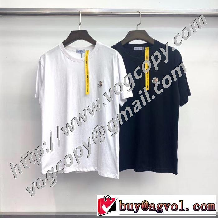 累積売上総額第1位 半袖Tシャツ 2色可選 老舗ブランド モンクレール MONCLER  20SS☆送料込