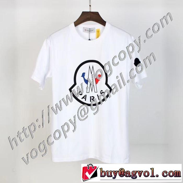 2色可選 モンクレール大人気のブランドの新作  MONCLER 取り入れやすい 半袖Tシャツ 確定となる上品