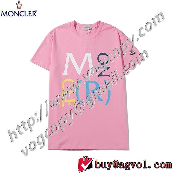 3色可選 20SSトレンド 半袖Tシャツ 注目を集めてる モンクレール海外限定ライン  MONCLER 使いやすい新品