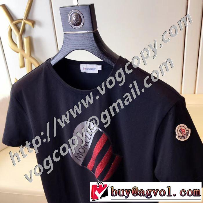 多色可選 最先端のスタイル モンクレール MONCLER 2020SS人気 半袖Tシャツ 2年以上連続1位獲得