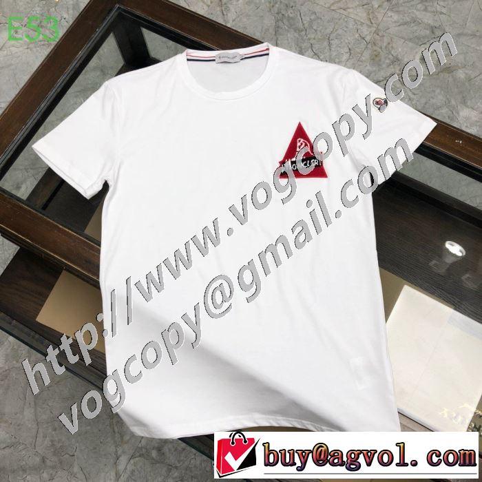多色可選 半袖Tシャツ おしゃれ刷新に役立つ モンクレール MONCLER  オススメのアイテムを見逃すな