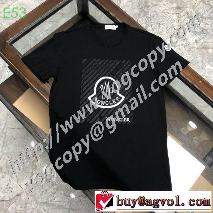モンクレールシンプルなファッション 3色可選  MONCLER  2020モデル 半袖Tシャツストリート感あふれ