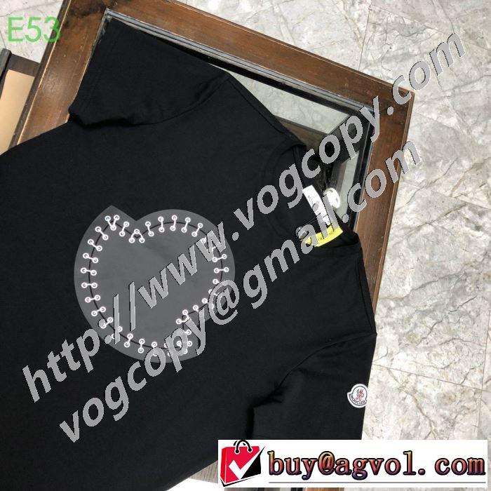 モンクレールファッションに合わせ 2色可選  MONCLER 限定アイテム特集 半袖Tシャツ やはり人気ブランド