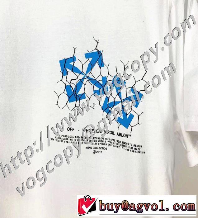 2020SS人気 2色可選 Off-White オフホワイト 半袖Tシャツ