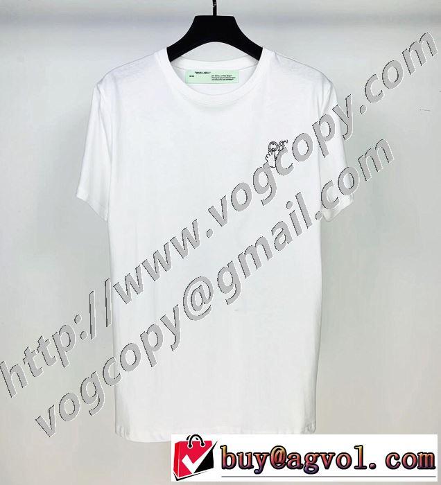 半袖Tシャツ 2色可選 最もオススメ Off-White 人気が継続中 オフホワイト  海外でも大人気