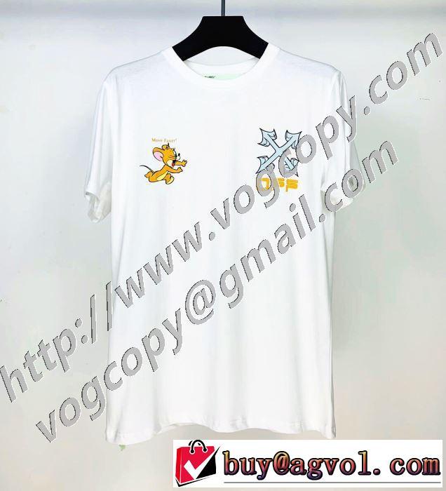 半袖Tシャツ シンプルなファッション 3色可選 Off-White ストリート感あふれ オフホワイト 2020モデル