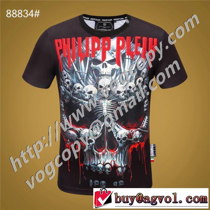 PHILIPP PLEIN 高級感のある素材 フィリッププレイン 半袖Tシャツ 海外でも人気なブランド