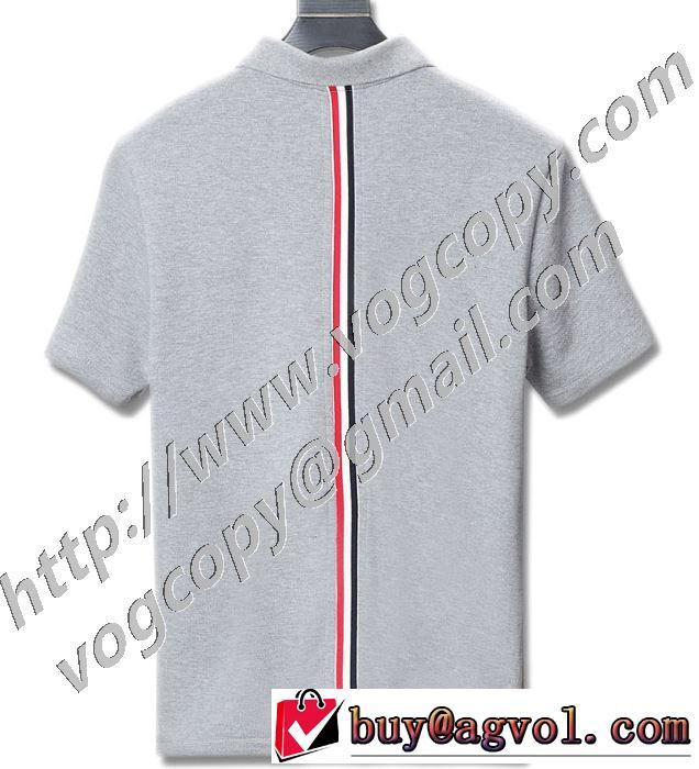 トムブラウンエレガントな雰囲気 多色可選  THOM BROWNE おしゃれな人が持っている 半袖Tシャツ