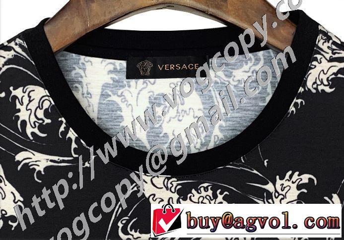 2年以上連続1位獲得 半袖Tシャツ 2020SS人気 ヴェルサーチ VERSACE  VIP価格SALE